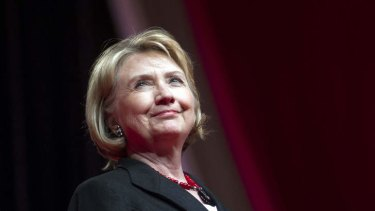 Former Secretary of State Hillary Rodham Clinton in July.