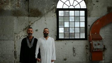 DJ's Paul Mac (left) and Johnny Seymour (right) at Carriageworks. Paul Mac and Johnny Seymour will be DJing at the Day For Night party, part of the Mardi Gras Festival.