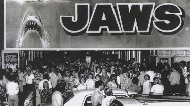 Incredibly popular ... <em>Jaws</em> (1975).