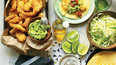 The original ... Gwyneth Paltrow's take on fish tacos.