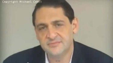 """Australian Michael Cohen, a """"paranormal investigator"""" with allnewsweb.com."""