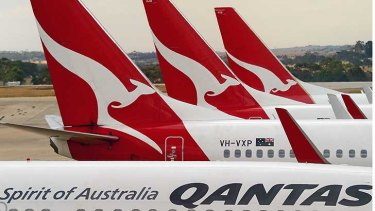 Qantas has been shrinking its loss-making international division overall.