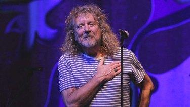 Major drawcard ... former Led Zeppelin frontman Robert Plant.