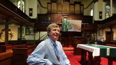 Tough task … Brian Brown is helping reinvent the Uniting Church in the face of reduced congregations and finances.