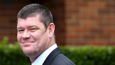 James Packer: On his way with a mid-life makeover.
