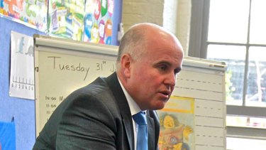 """""""Too important to be used as a political football"""" ... Adrian Piccoli on school funding."""