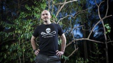 Subtropical Suspense author Cameron Trost.