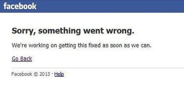 Facebook has temporarily crashed around the world.