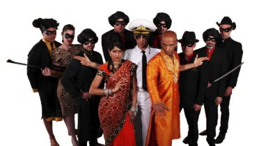 Bombay Royale in costume, but it's about the music, not theatre.