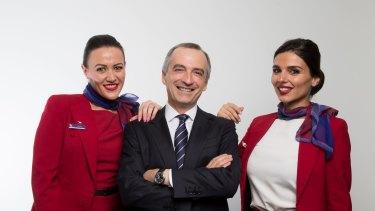 Virgin chief John Borghetti has led Air New Zealand on a merry dance.