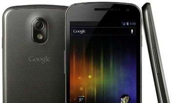 Galaxy Nexus.