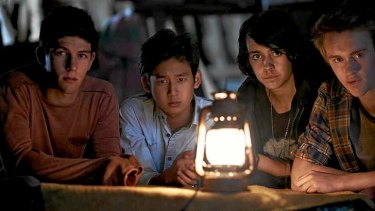 Alone: In <i>Nowhere Boys</i>, four teenagers return to town after a night in the woods to discover no one knows them.