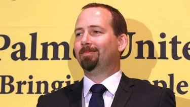 Courted by the Greens: Ricky Muir.