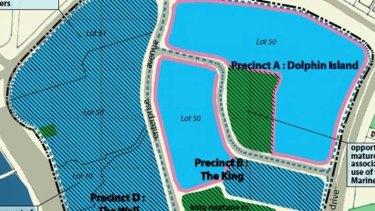 The development plan for the revitalisation of the Atlantis site.