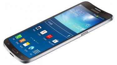 Curved smartphone: Samsung Galaxy Round.