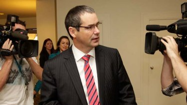 Minister for Broadband, Communications and the Digital Economy, Senator Stephen Conroy.
