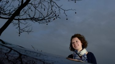 Young crusader: Kirsty Albion is leading the charge of youth against climate change.