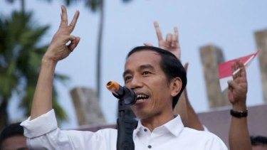President-elect Joko Widodo's rivals have struck a pre-emptive blow in parliament.