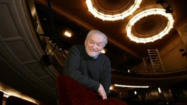 Bob Hornery, who  spent half a century with the Melbourne Theatre Company, pictured in 2012.