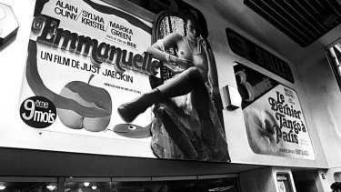 Huge hit ... millions around the world watched Emmanuelle.