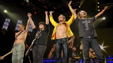 US rock veterans Van Halen who were booked to headline Soundwave Revolution.