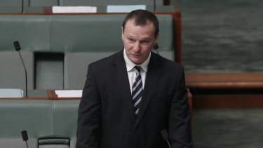 Labor MP Graham Perrett tables a report on same-sex marriage.