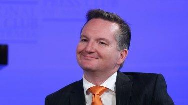 Labor's treasury spokesman Chris Bowen.