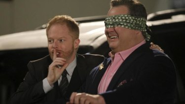 <i>Modern Family</i> actor Jesse Tyler Ferguson was paid $US500,000 more than his on-screen husband Eric Stonestreet.
