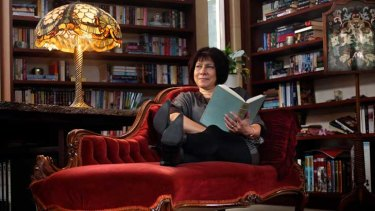 Australian author Stephanie Laurens at her home in Macedon.
