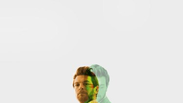 Looking a bit green ... Dan Spielman in a promotional image for Bell Shakespeare's Macbeth