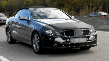 The next Mercedes-Benz E-Class. Pictures: Automedia