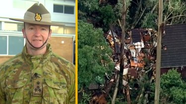 ADF crews have hit the ground running embarking on a mammoth clean-up more than a week after devastating storms tore through Victoria's Dandenong Ranges.