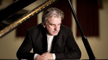 Expressive approach: Pianist Barry Douglas was impressive at the Opera House.