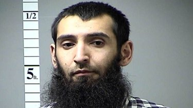 The suspect has been identified as Sayfullo Saipov by two law enforcement officials, Associated Press reports.