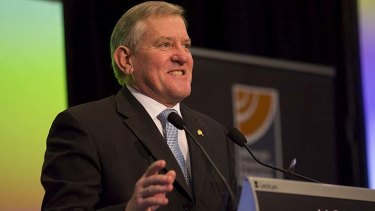 'Anarchists': Ian Macfarlane has hit out at coal seam gas protesters.