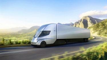 The Tesla Semi was unveiled last week.