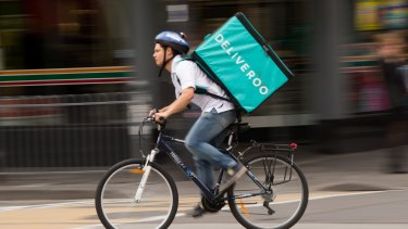 Foodora and Deliveroo are just two of the companies taking to the roads.