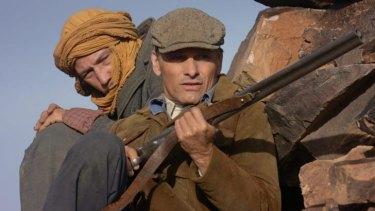 Reda Kateb and Viggo Mortensen in <i>Far from Men</i>.