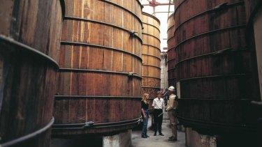 Bundaberg Rum Distillery in Bundaberg.    Photographer: Peter Lik