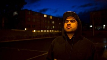 Fiery spirit: Queanbeyan author and hip hop artist Omar Musa.