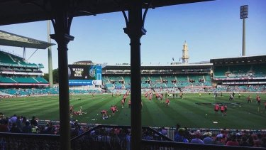 Real beneficiary: The Sydney Cricket Ground.