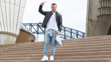 High flyer: Australia's Guy Sebastian will be putting his heart and soul into a number from his 2014 album <i>Madness</i> to sing at Eurovision in Vienna.