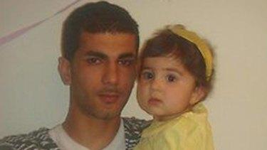 Ramazan Acar with daughter Yazmina.