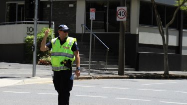 Police were directing traffic on nine blocks in the Brisbane CBD after and electrical fault knocked out power to 30 buildings.