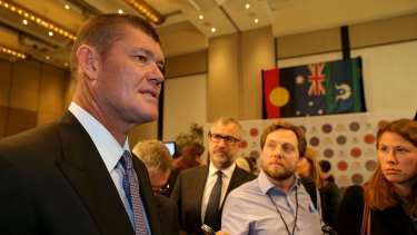 James Packer was paid $525 million for the family's publishing empire by Germany's Bauer Media.