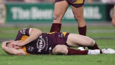 Defiant ... Darren Lockyer.
