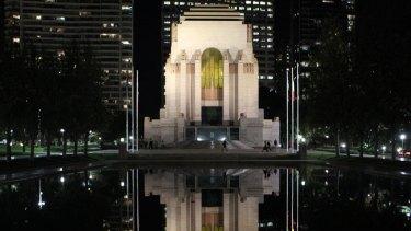 Hyde Park's Anzac Memorial.