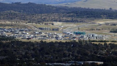 The new Canberra suburbs of Coombs and Wright are being developed as part of Molonglo.