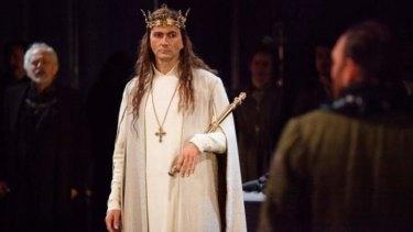 David Tennant in the Royal Shakespeare Company production of <i>Richard II</i>.