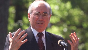 Unstable: John Howard believes the closeness of the last election has led to vitriol in federal politics.